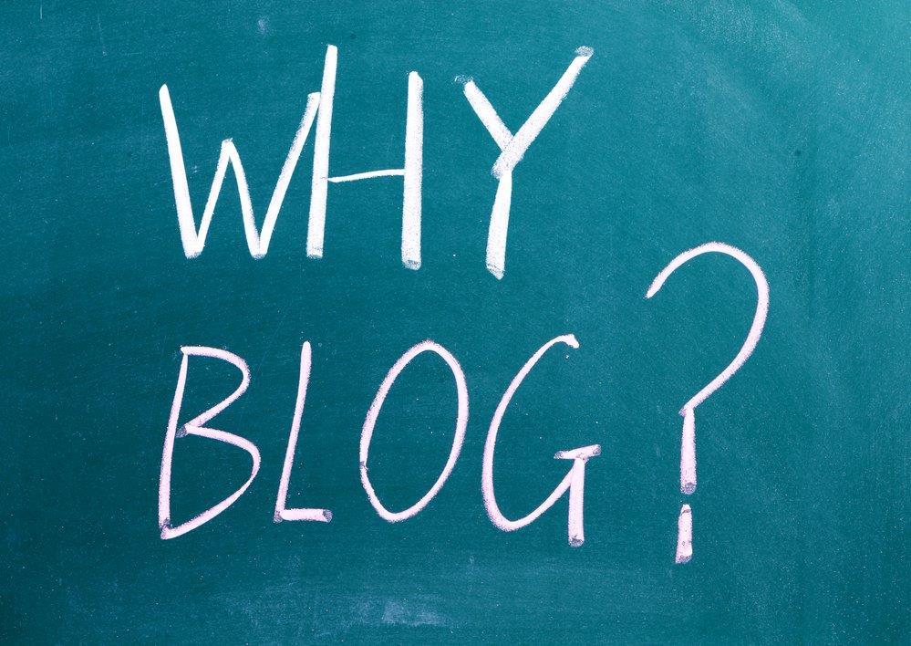 Why Blog ?